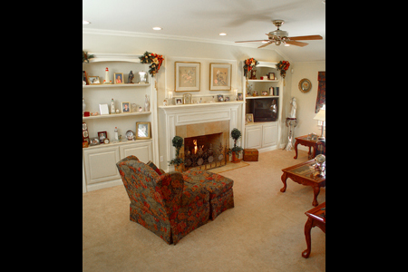 Design Discipline Builders Family Room